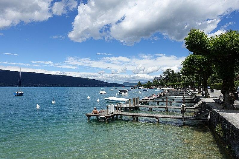 Lac d'Annecy - Trail again